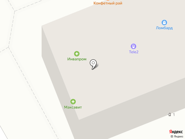Тамбовфармация на карте Тамбова