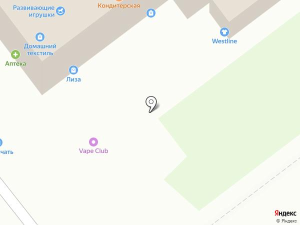 Магазин обуви на карте Тамбова