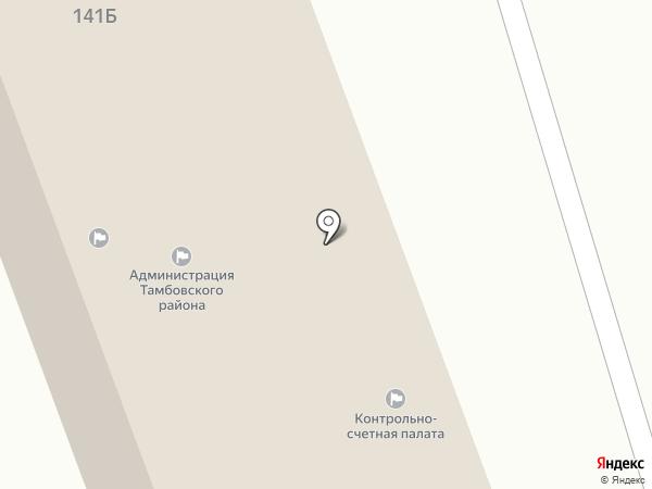 Тамбовский Районный Совет Народных Депутатов на карте Тамбова