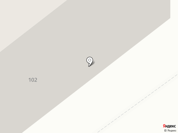 Алёнка на карте Тамбова
