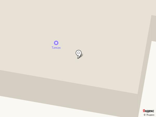 Тамак на карте Строителя