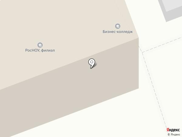 Тамбовский бизнес-колледж на карте Тамбова