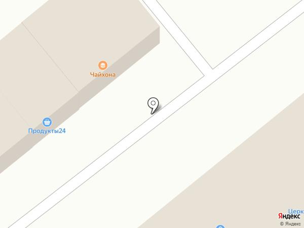 Продовольственный магазин на карте Тамбова