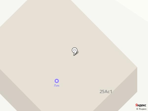 Оптовая база на карте Тамбова