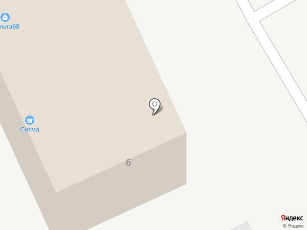 Профлазер на карте Тамбова