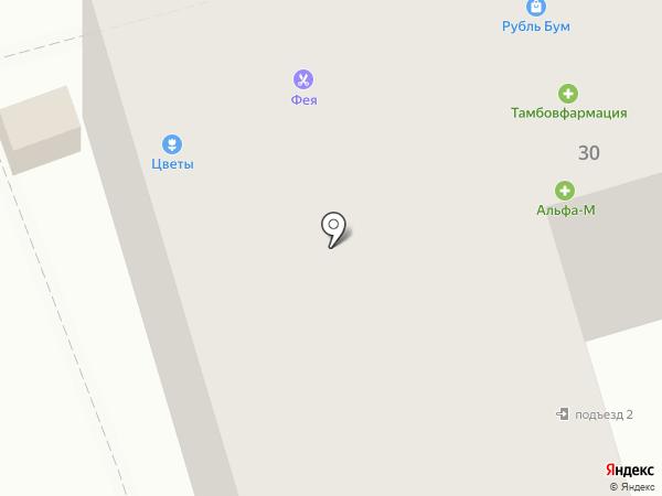 Фея на карте Тамбова