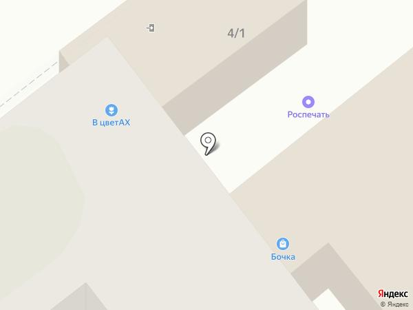 Цветочный салон на карте Тамбова