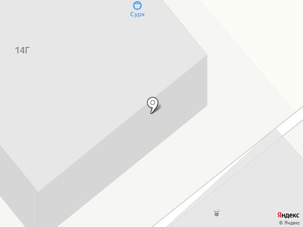 Оптовая компания на карте Тамбова