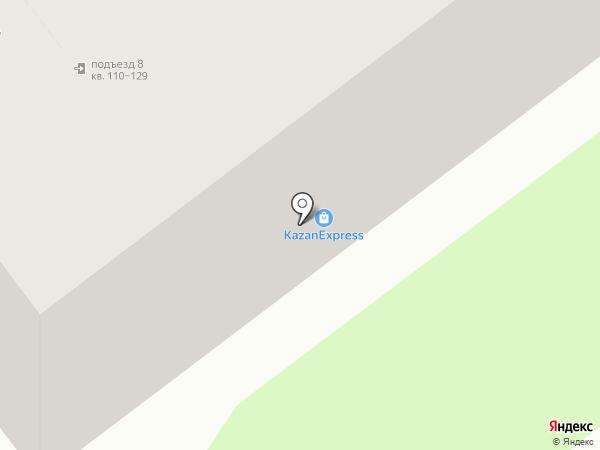 Участковый пункт полиции №2 на карте Тамбова