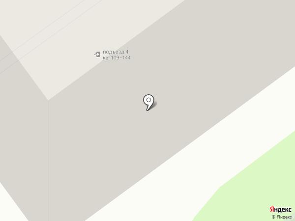 Библиотека №20 на карте Тамбова