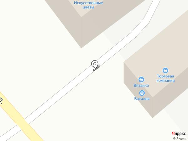 Автозебра на карте Тамбова