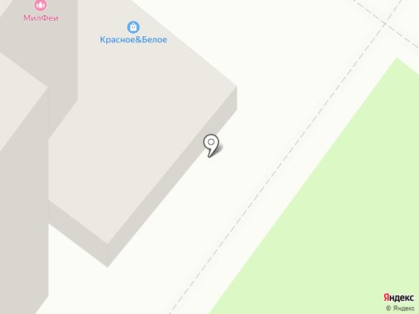 Красное & Белое на карте Тамбова
