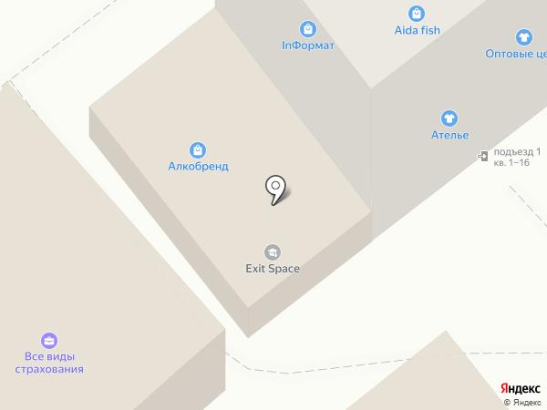 Энтузиаст на карте Тамбова