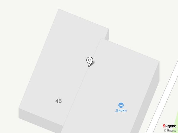 Продуктовая база на карте Тамбова