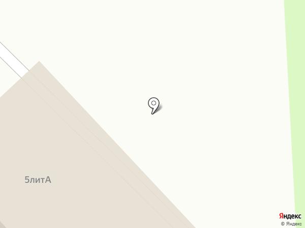 Киоск по продаже продовольственных товаров на карте Тамбова