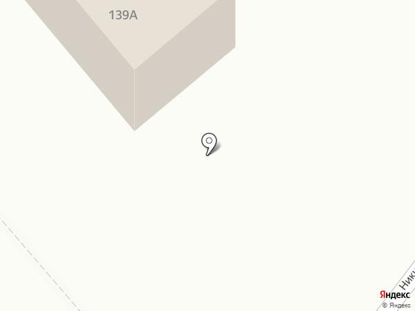 Авеню на карте Тамбова