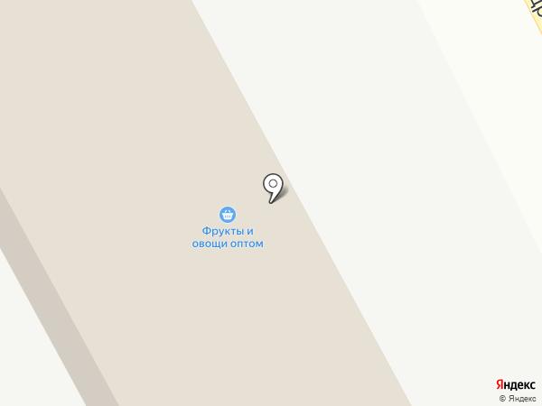 Фруктово-овощная база на карте Тамбова