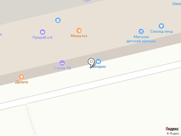 Электромир на карте Тамбова
