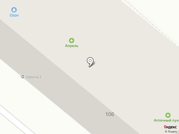 Карполов на карте Тамбова