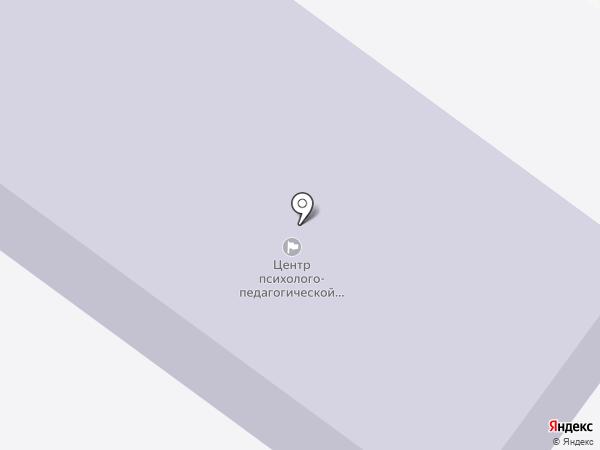 Центр психолого-педагогической реабилитации и коррекции на карте Тамбова