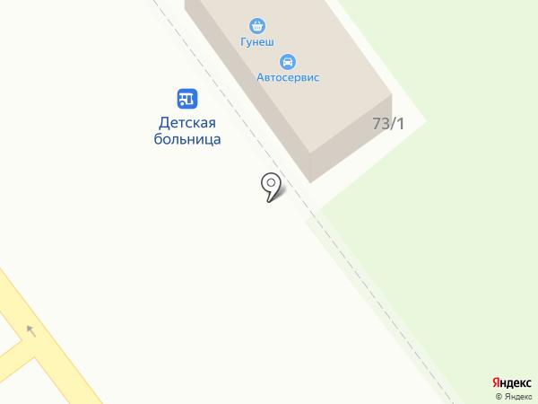 Ланкон на карте Тамбова