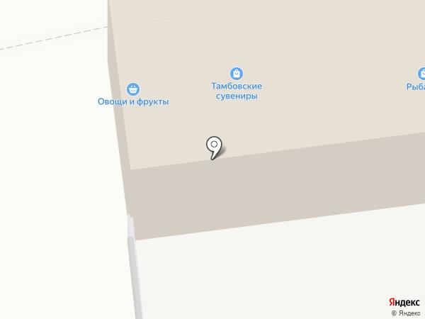 Экономка-D на карте Тамбова