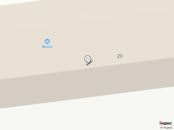 Волга-Газель на карте Тамбова