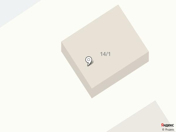 Звёздный на карте Тамбова