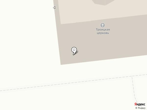Церковь Святой Троицы на карте Тамбова