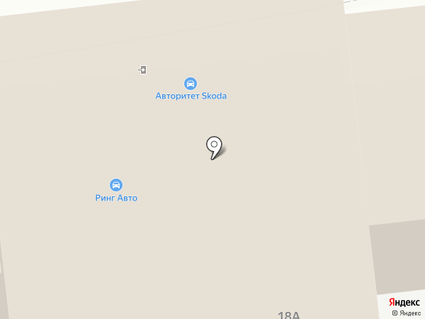 Skoda на карте Тамбова