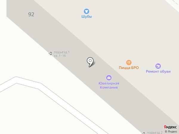 Сервис-Комп на карте Тамбова