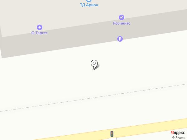 Тамбовский инновационный бизнес-инкубатор на карте Тамбова