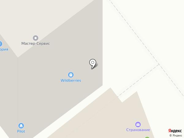 Автостелс на карте Тамбова