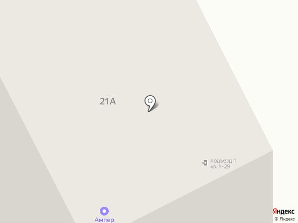 Мышка на карте Тамбова