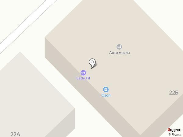 Автополка на карте Тамбова