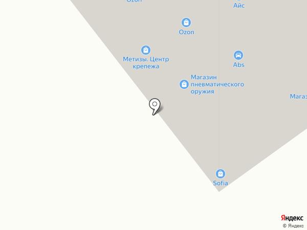 Магазин инструментов и крепежных изделий на карте Тамбова
