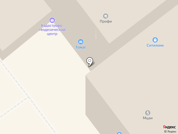 Конфетный рай на карте Тамбова