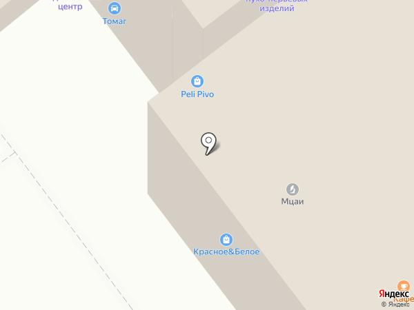 Ультрас на карте Тамбова