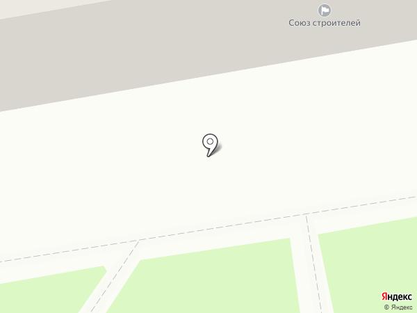 Газовик на карте Тамбова