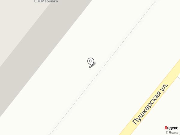Центральная детская библиотека им. С.Я. Маршака на карте Тамбова