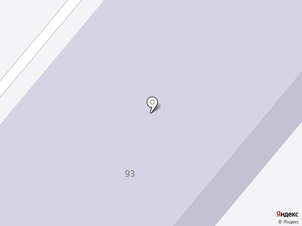Средняя общеобразовательная школа №24 на карте Тамбова