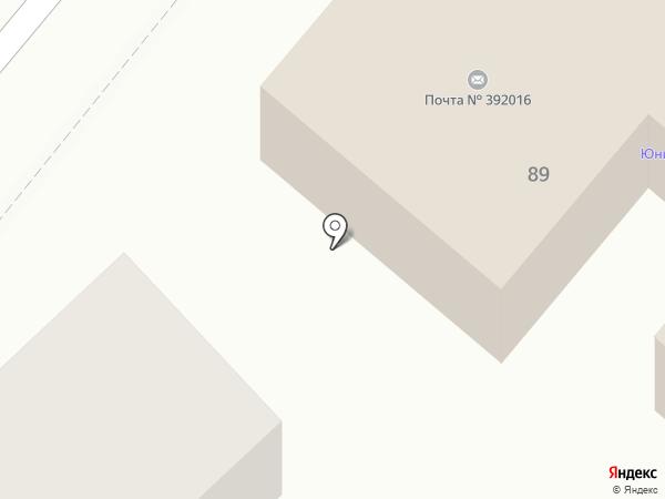 Почтовое отделение №16 на карте Тамбова