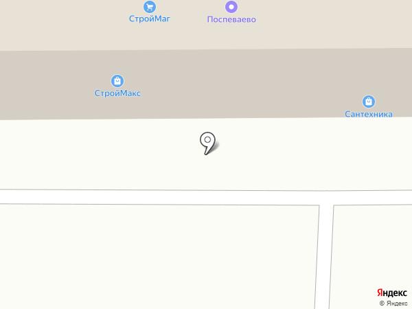Полив в Тамбове на карте Тамбова