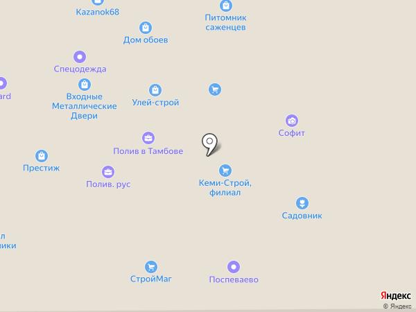 АрхангельскЛес на карте Тамбова