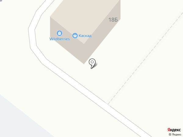 Каскад на карте Тамбова
