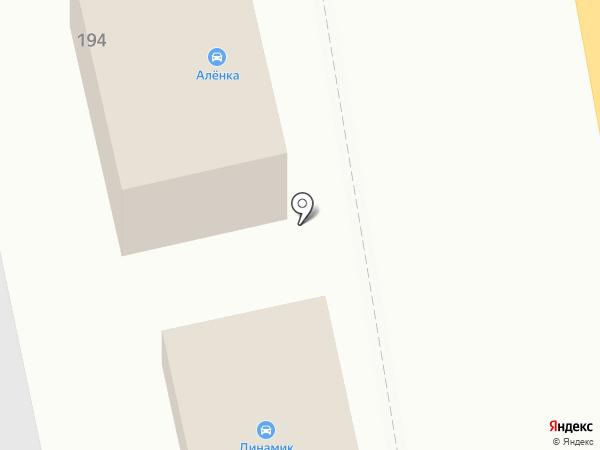 Магазин автозапчастей для ВАЗ на карте Тамбова