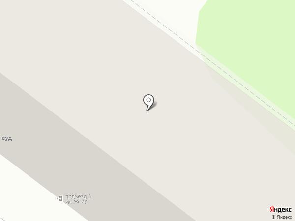 Годограф на карте Тамбова
