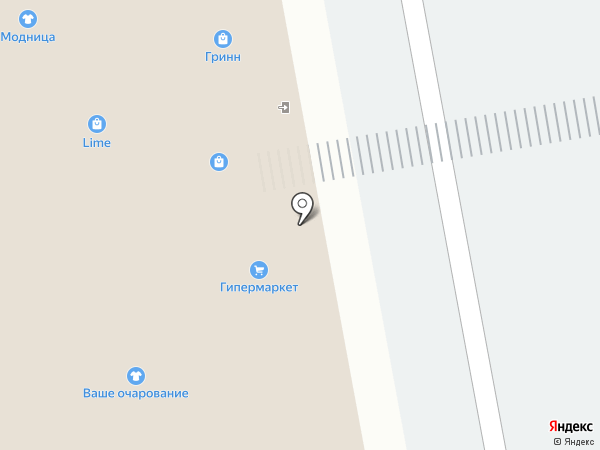 Носкофф на карте Тамбова