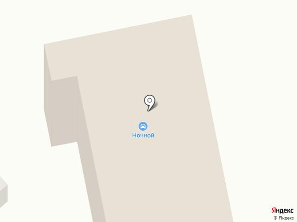 Ночной на карте Тамбова