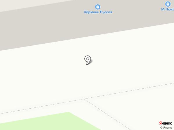 Люсия на карте Тамбова